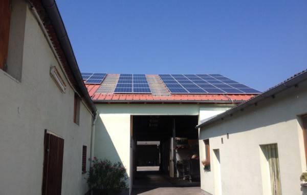 10kWp Dachanlage , Weingut Tschank